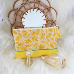 Pochette Tropical jaune